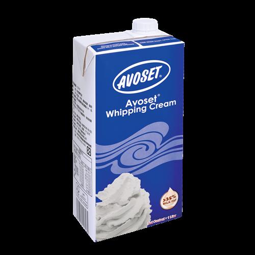 Avoset Whipping Cream 35% UHT 1L